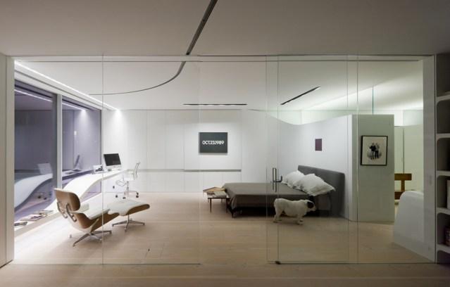 art collector loft in New York