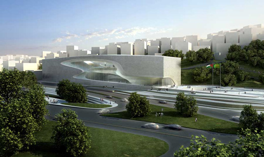 King Abdullah II House of Culture & Art jordan zaha hadid