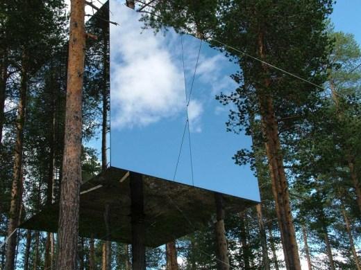 Treehotel Mirrorcube / Tham & Videgård architects
