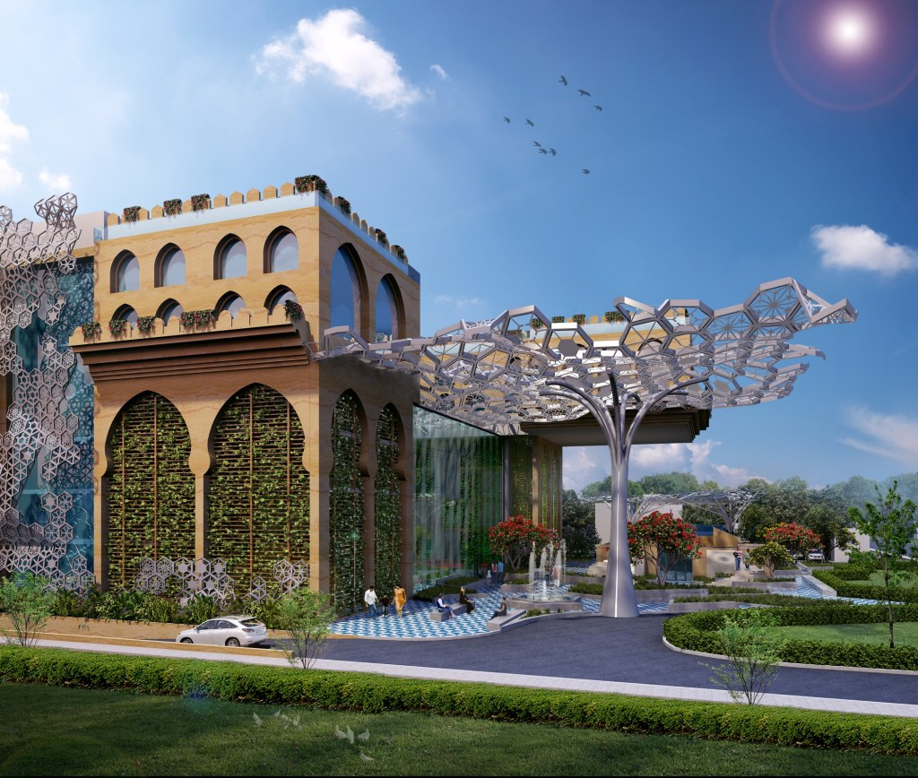 Competition Entry: Proposal for Redevelopment of Rajasthan House, 2018, by Intrigue Designs 9