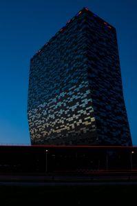 Kantoorgebouw FiftyTwoDegrees Nijmegen, Mecanoo Architecten.