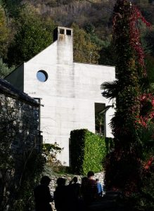 Casa Cavalli (Luigi Snozzi 1976-78), Verscio, Zwitserland