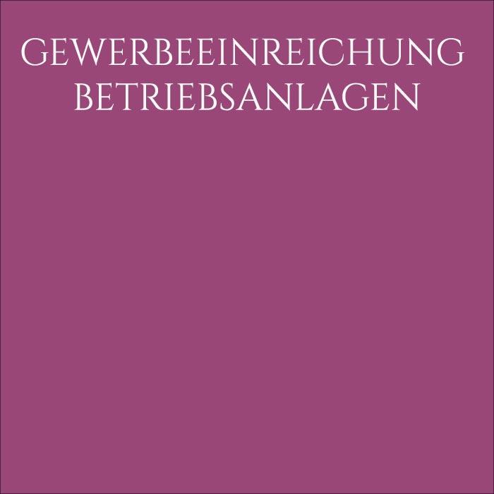 Architekt Daniel Gutmann - Gewerbeeinreichung/Betriebsanlagen