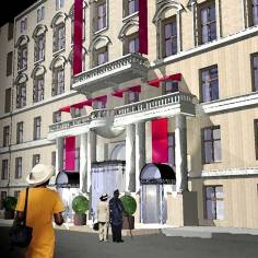 Architekt Daniel Gutmann - Hotel Rathauspark Wien