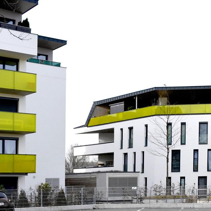 Wohnhausanlage Tulln - Ansicht Hof