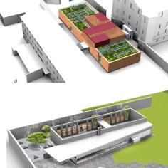 Besucherzentrum Justizanstalt Karlau - Beide Projekte