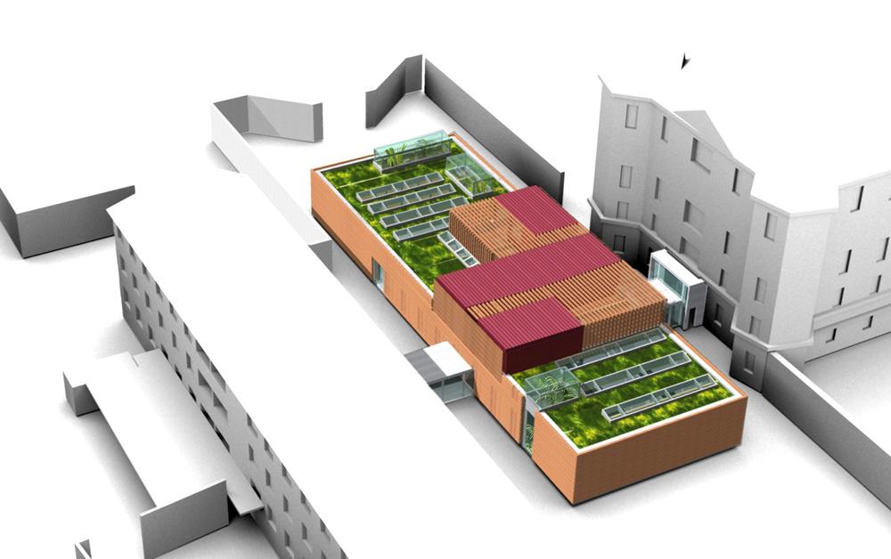 Besucherzentrum Justizanstalt Karlau - Besucherzentrum Schaubild 1