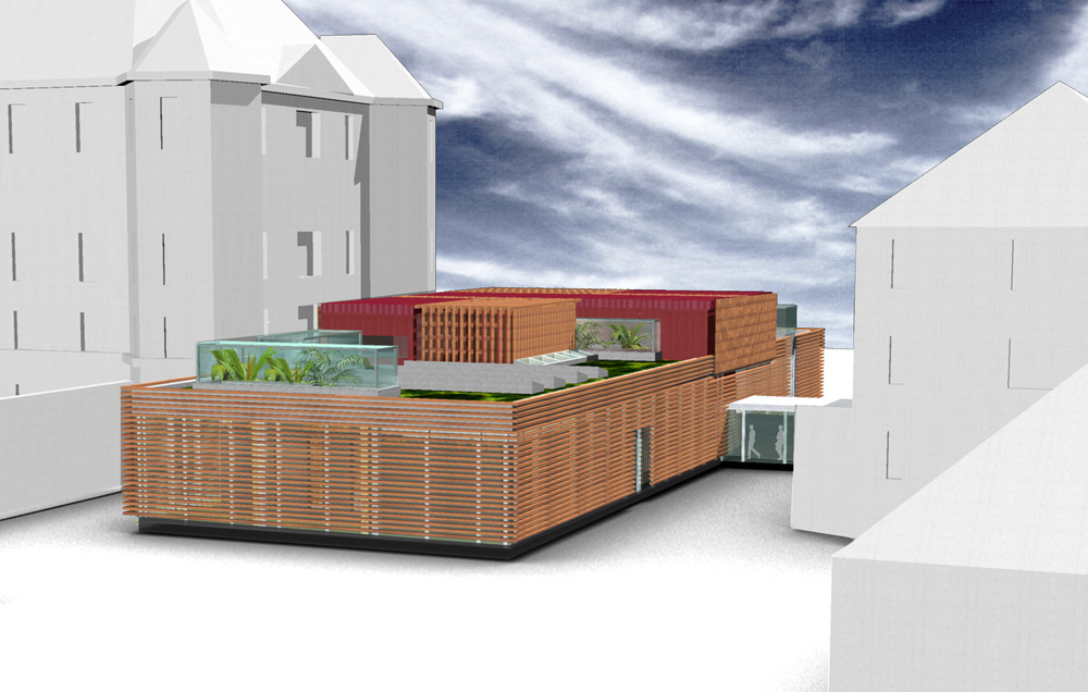 Besucherzentrum Justizanstalt Karlau - Besucherzentrum Schaubild 2