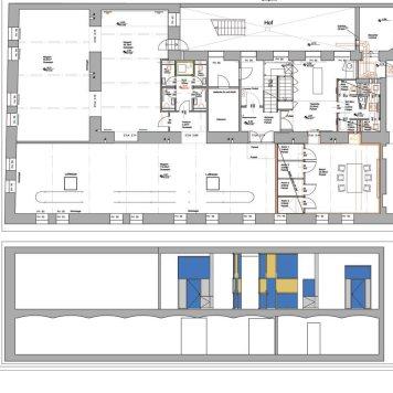 Shared Offices, Schikanedergasse, Wien - Plan
