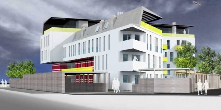 Architekt Daniel Gutmann - Wohnhausanlage Brückengasse - Tulln