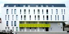 Wohnhausanlage Tulln - Bauteil 1 Straßenfassade