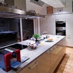 Architekt Daniel Gutmann - Dachgeschoss Führichgasse - Küche