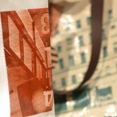 Siebdrucktaschen - Details Shopper