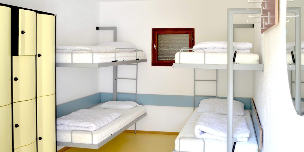 Camping Wien West - Schlafbereich