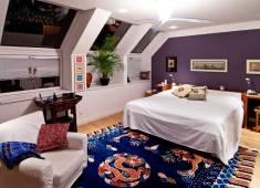 Architekt Daniel Gutmann - Dachgeschoss Führichgasse - Schlafzimmer