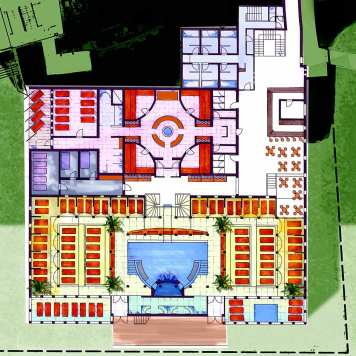 Architekt Daniel Gutmann - Therme Loipersdorf - Plan