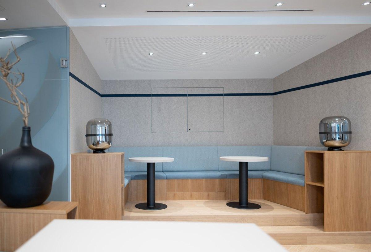 Architekt Gutmann - Büro Service & More Diefenbachgasse - Kaffee-Ecke