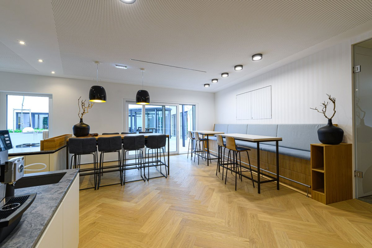 Architekt Gutmann - Büro Service & More Diefenbachgasse - Mitarbeiter-Küche