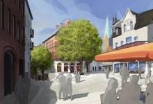 Neugestaltung der Fußgängerzone in Minden