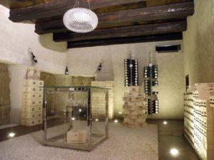 Cantina per vino per locali