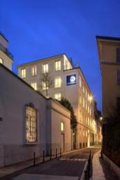 Milano Design facade at night