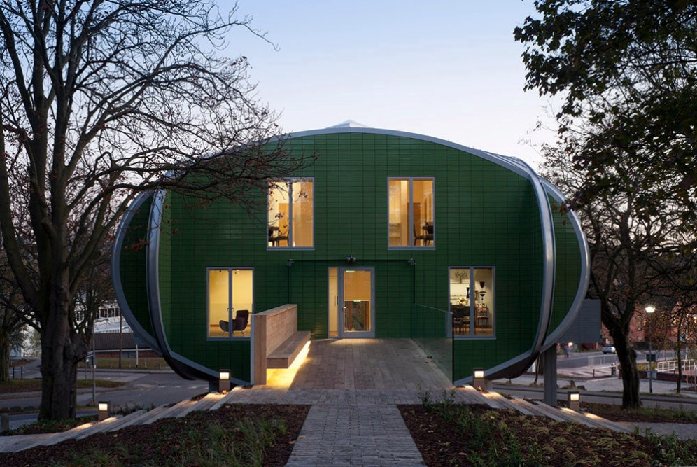 Maggie's Nottingham, United Kingdom, CZWG Architects