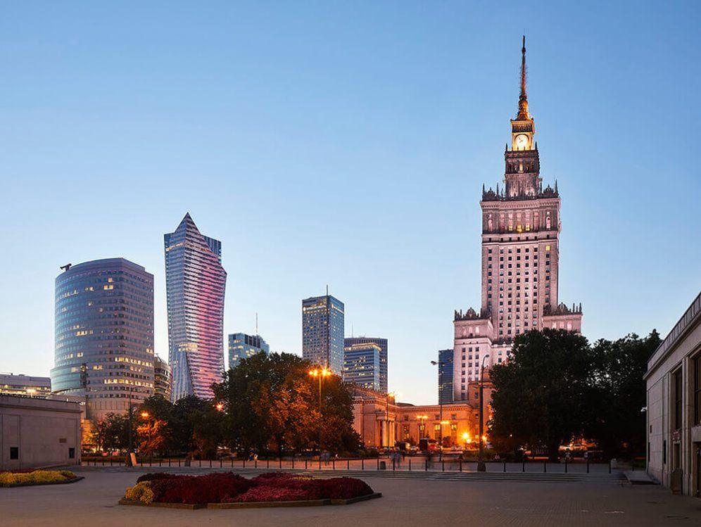 Zlota 44, Warsaw, Poland, Studio Liebeskind