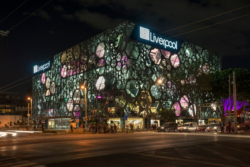 Liverpool Insurgentes Department Store, Mexico City, Mexico, Rojkind Arquitectos