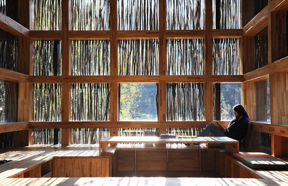 Liyuan Library, Vogau, Austria, Li Xiaodong Atelier
