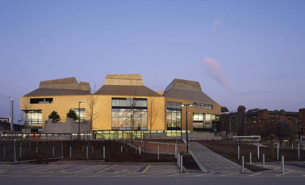 The Hive, Worcester, United Kingdom, Feilden Clegg Bradley Studios