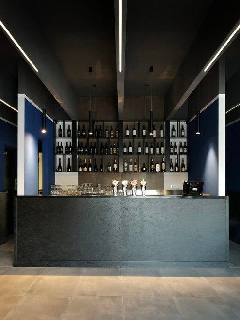 Sedici Restaurant, Naples, Italy, Spaceless