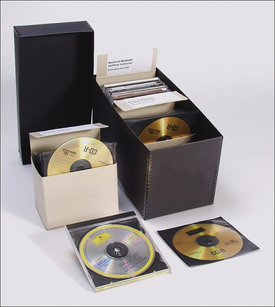 Archival Solution Of The Week Archival Cd Dvd Storage Kits