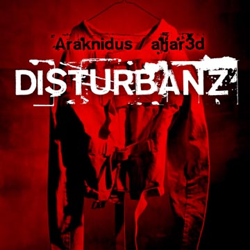 Araknidus + aLJar3d - Disturbanz (qd-4255) album cover