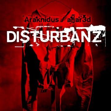 Araknidus + aLJar3d - Disturbanz (qd-4255) album cover