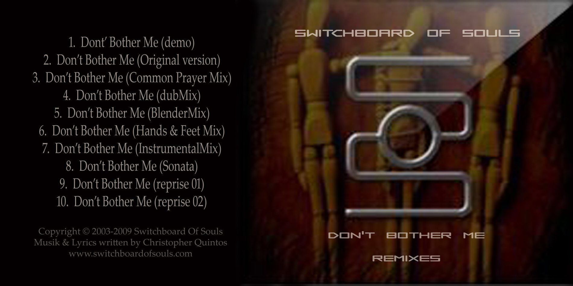 (qd-4257) Switchboard Of Souls - Dont Bother Me