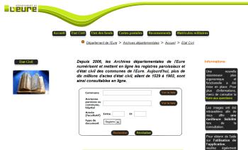 AD 27   Archives Départementales de l Eure en ligne   CGMA - Maisons ... 08bf30a9b813