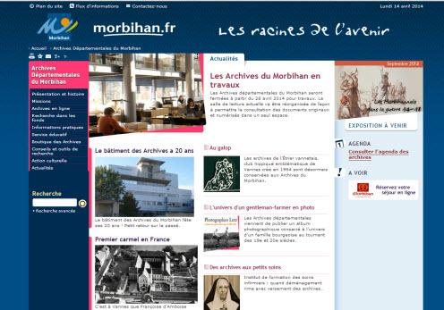 Archives Départementales du Morbihan