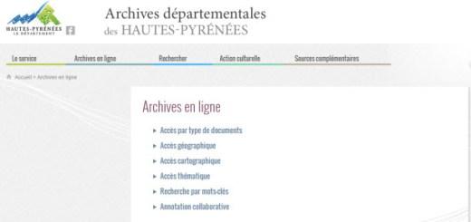 archives Hautes Pyrénées
