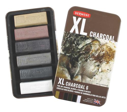 XL Charcoal 6 tin