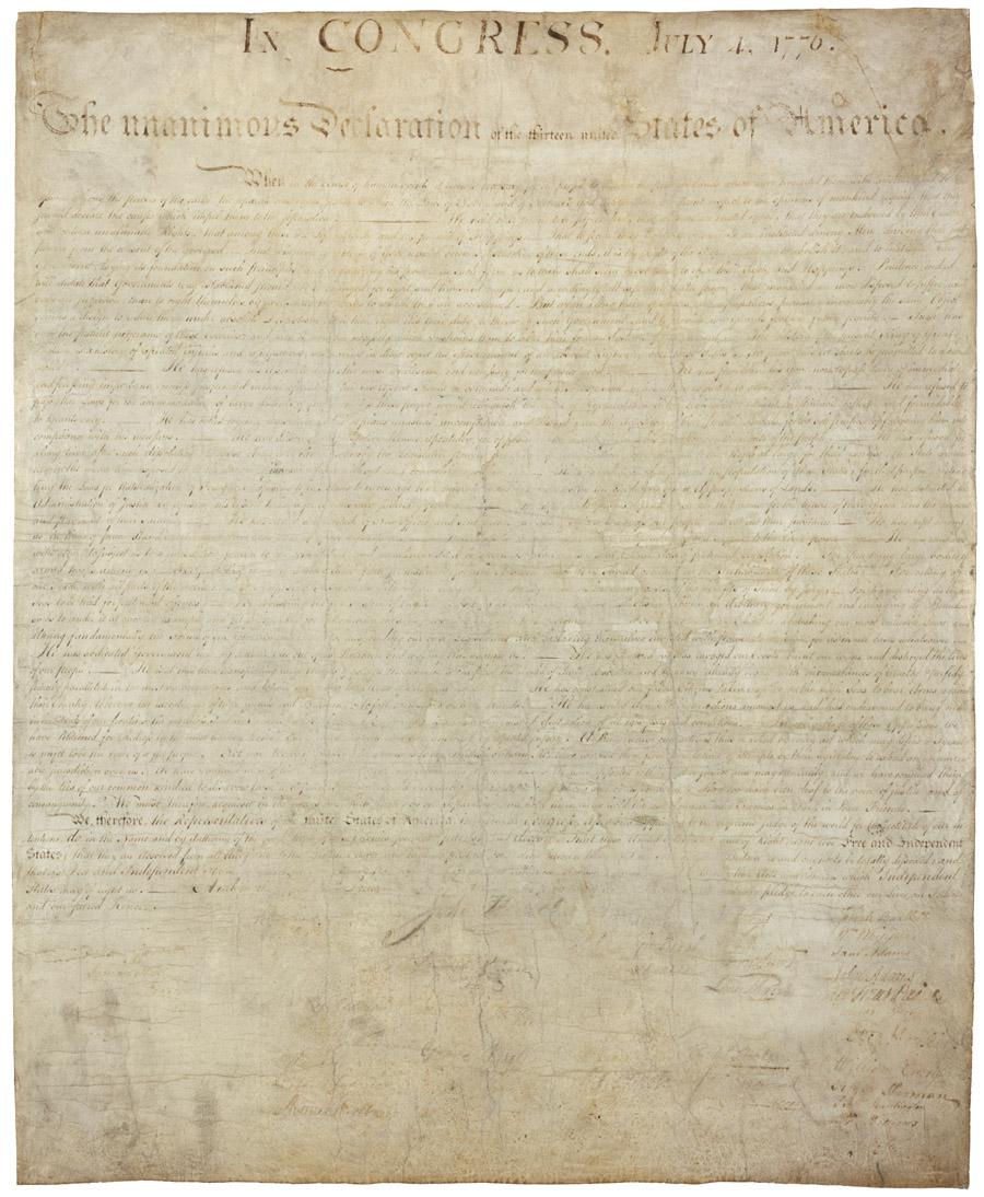 La Declaracion de Independencia
