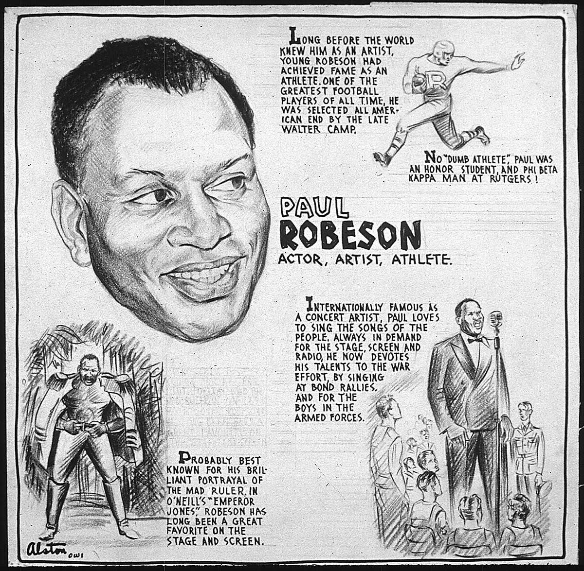 The Many Faces Of Paul Robeson