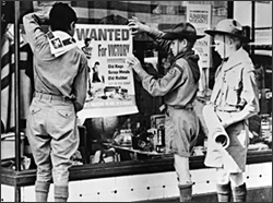 Boy Scouts distributed posters urging recycling during World War II - National Scouting Museum via National Archives