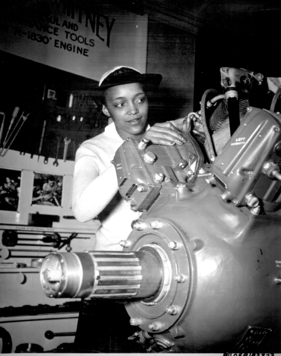 The Retro Natural Black American Women During Ww2