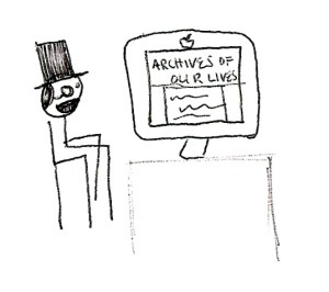 Charles P Wiggins Reads Archives of Our Lives