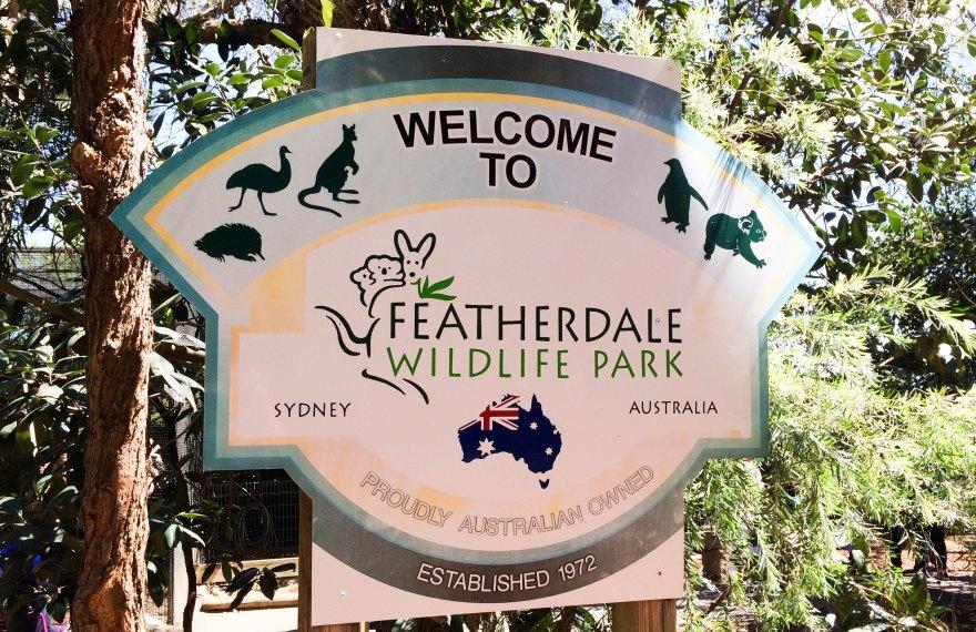 Featherdale Wildlife Park Entrance