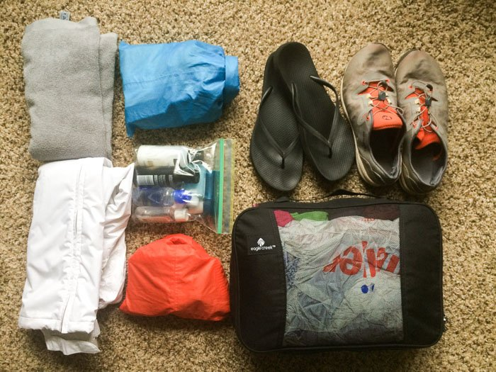 Europe in three weeks packing list