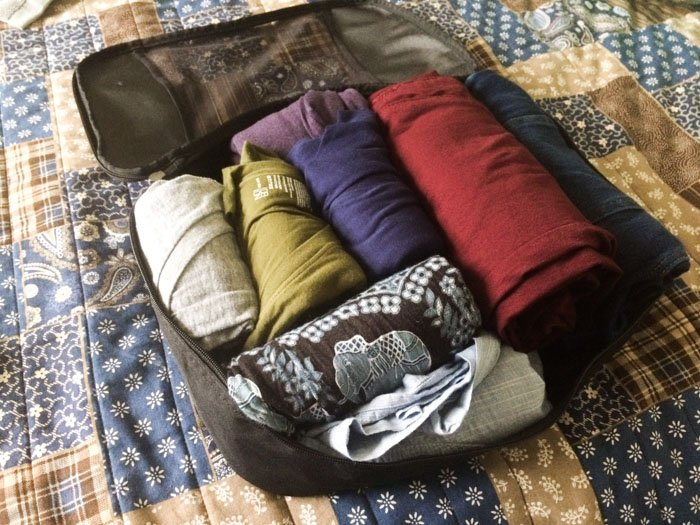 clothes to pack for three weeks in Europe