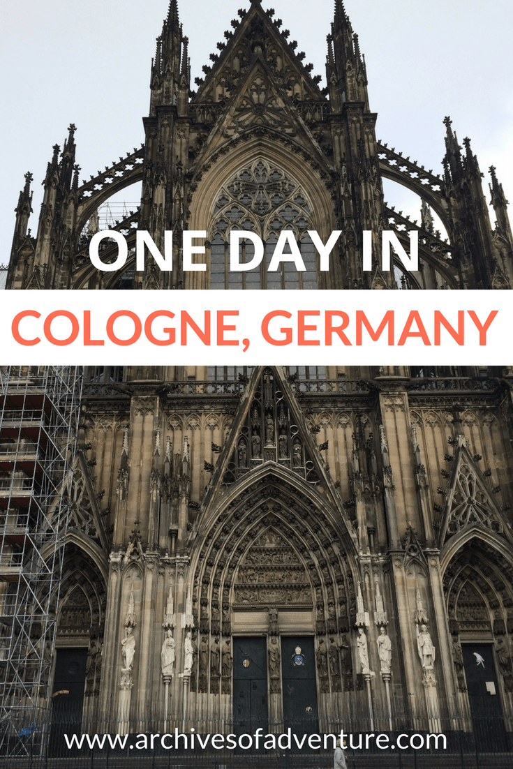 This German city is lovely and you can easily cover the basics in just one day. Here's how to spend one day in Cologne, Germany.  #Cologne #Koln #CologneTravel #GermanyTravel Cologne Germany | Cologne in One Day | Cologne Travel | Germany Travel | One day in Cologne | What to do in Cologne | What to see in Cologne | Koln Germany | Koln Travel