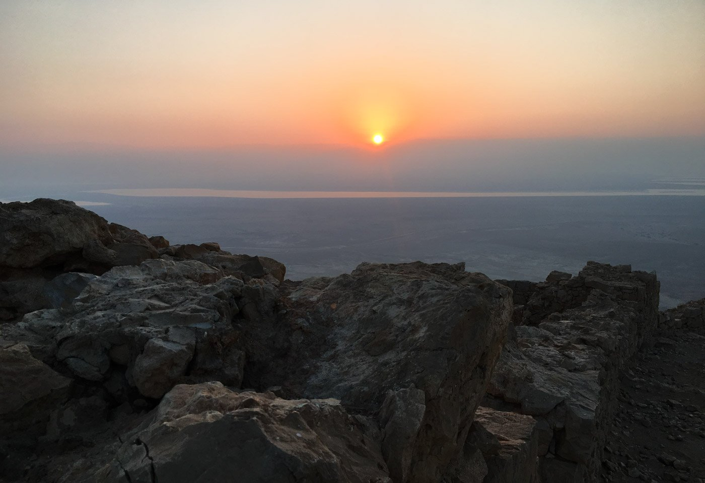 If you consider yourself a non-hiker and you're thinking about hiking the Masada Snake Path in Israel, here's what you'll need to know to get through and make it to the top!