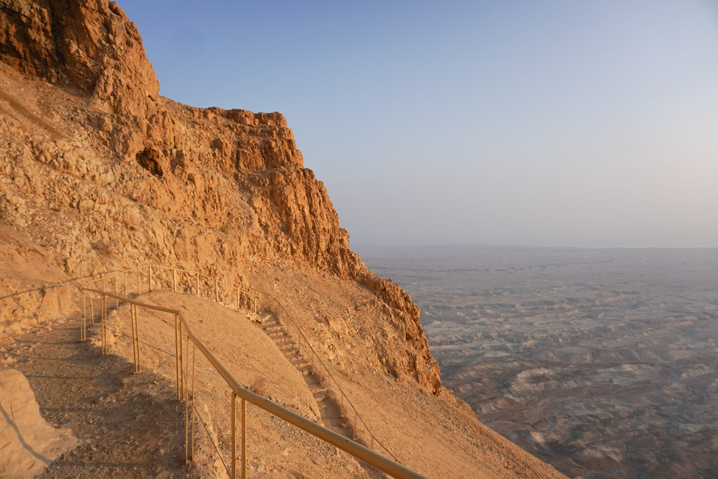 If you consider yourself a non-hiker and you're thinking about hiking the snake path of Masada in Israel, here's what you'll need to know